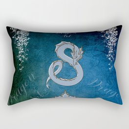 Wonderful chinese dragon Rectangular Pillow