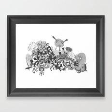 mashup 11 Framed Art Print