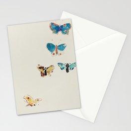 Five Butterflies (1912) by Odilon Redon Stationery Cards