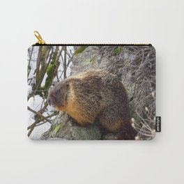 Winter Marmot Carry-All Pouch