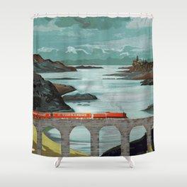 The Hogwarts Express Shower Curtain