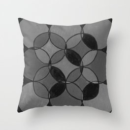 CIRCULOS DE VAINILLA Throw Pillow