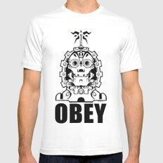 OBEY MEDIUM White Mens Fitted Tee