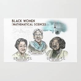 Black Women in the Mathematical Sciences Rug