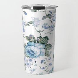 Christine blue Travel Mug