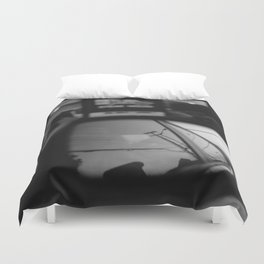 Blowing Rock Duvet Cover