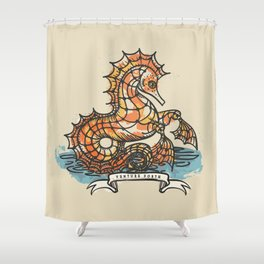 VENTURE FORTH Shower Curtain