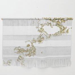 Golden Flow Wall Hanging
