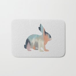 Pastel Rabbit Bath Mat