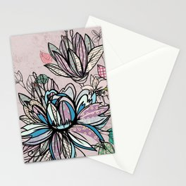 Paper Flowers #1 Stationery Cards