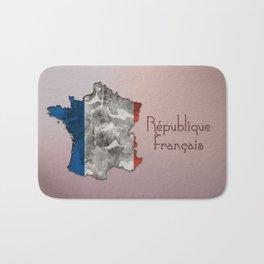 Republique Francais / France Bath Mat