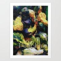 pumpkin Art Prints featuring Pumpkin by LoRo  Art & Pictures