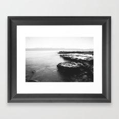 Water Moss Framed Art Print