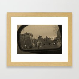 now im just a little child playing Framed Art Print