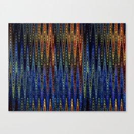 Wellen Strand Meer - Muster Canvas Print