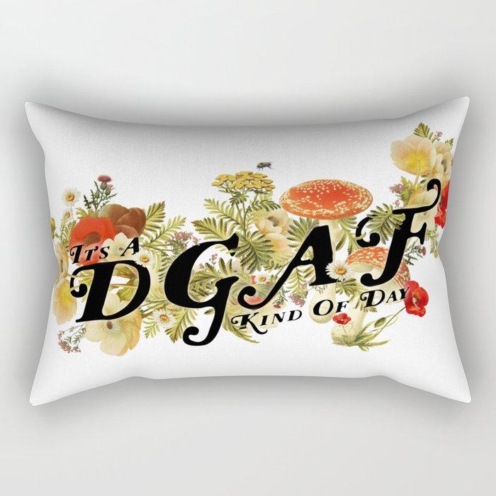 DGAF Day Rectangular Pillow