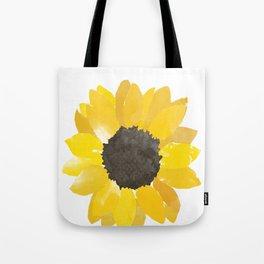 Watercolor Sunflower Tote Bag