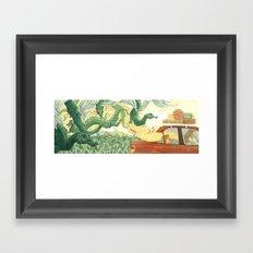 Singing Ventura Highway Framed Art Print