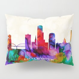 Little Rock Skyline Pillow Sham