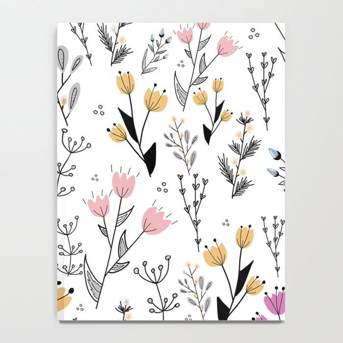 Flower Pattern Notebook