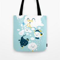 family Tote Bags featuring family by Steven Toang