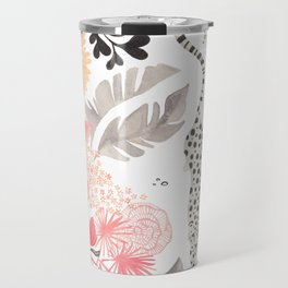 Stalking Leopard Travel Mug