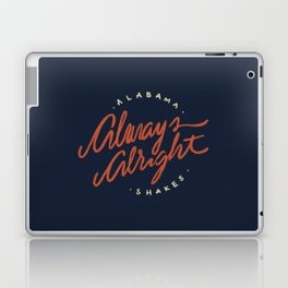 Alabama Shakes Laptop & iPad Skin