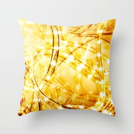 Light Speed Throw Pillow