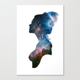 Galactic Girl Canvas Print