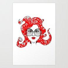 Kimi Art Print