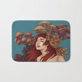 Mushroom Lady Bath Mat
