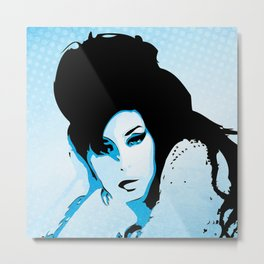 Love Amy - Valerie - Pop Art Metal Print