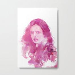 Power Woman Jones Metal Print