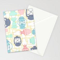 Kerosene Lamps Stationery Cards