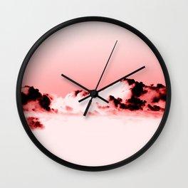 Frozen Sky V Wall Clock
