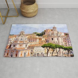 This is rome Rug