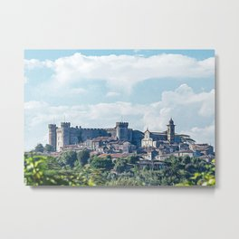 Medieval village of Bracciano Metal Print