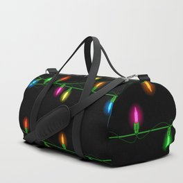 Christmas lights collection Duffle Bag