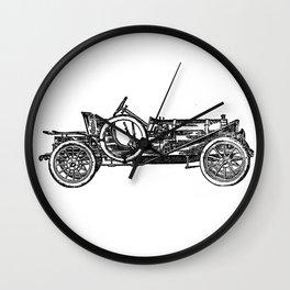 Old car 3 Wall Clock