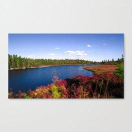 Lake in Halifax Canvas Print