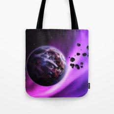 Deep Purple Space Tote Bag