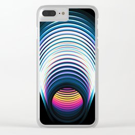 THE PORTAL Clear iPhone Case