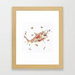 $hark! Framed Art Print