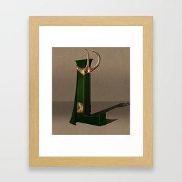 Superbet 'L' Framed Art Print