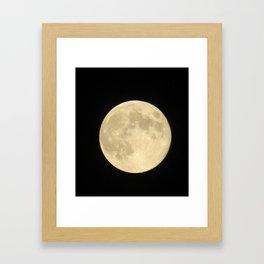 give a wink Framed Art Print