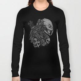 Prehistoric Girl Long Sleeve T-shirt