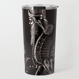 Lamassu ( Wingd Bull) Travel Mug