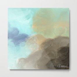 Abstract cloud Metal Print