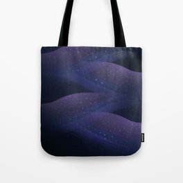 Ultraviolet Cosmos Tote Bag
