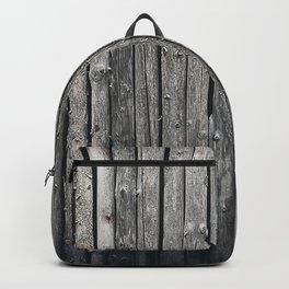 dark vertical wood Backpack